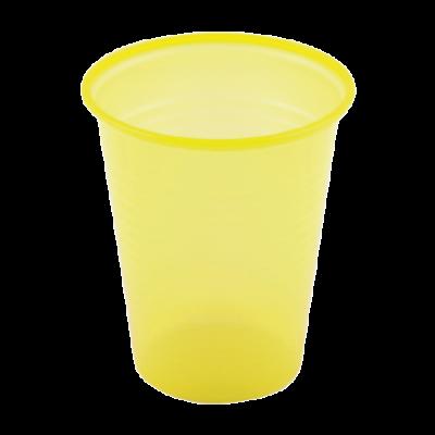 Laborbecher, gelb, 180 ml   Praxis-Partner.de