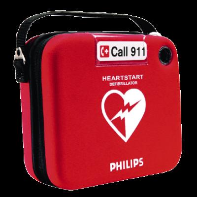 Sicherheits-Aufbewahrungstasche für PHILIPS HeartStart HS1, rot