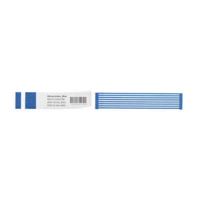ShortStay® Barcode LabelBand® | medimex